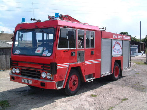 Red Fire Engine limousine hire in Newcastle, Sunderland, Durham, North East