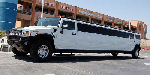 Chauffeur stretch white Hummer H2 limousine hire in Liverpool, Manchester, Bolton, Warrington, North West